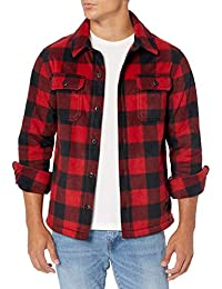Men's Long-Sleeve Polar Fleece Shirt Jacket
