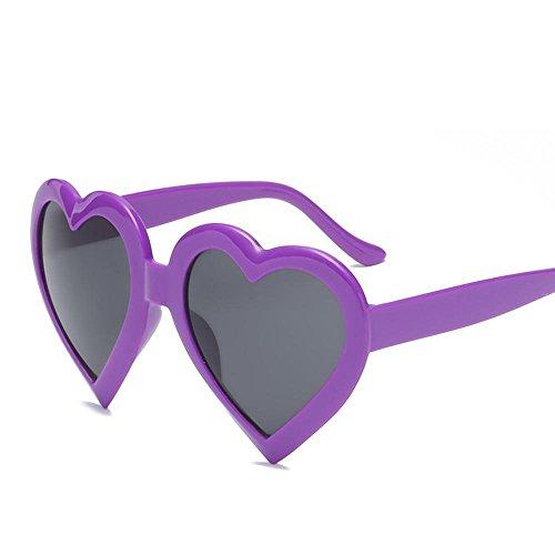 personnalité et lunettes coeur soleil homme Aoligei États en cent soleil p Unis grand cadre Chaque F de de fashion lunettes de soleil et femmes forme Europe de lunettes coeur amour 66qPT