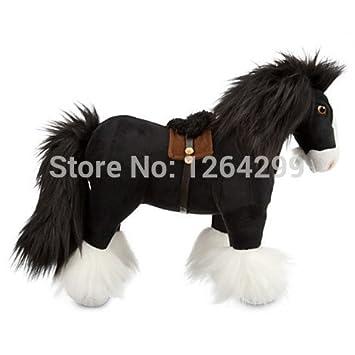 Amazon Com Original Brave Merida Pricness Angus Black Horse Plush
