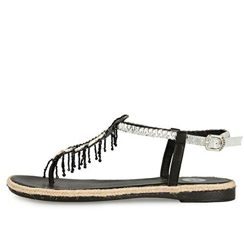 Gioseppo  Oriana 40487-02 Siver, Chaussures à brides femme