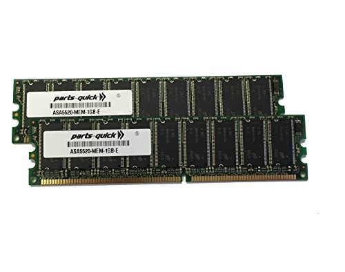 ASA5520-MEM-2GB 2GB (2 X 1GB) Memory for Cisco ASA 5520 (PARTS-QUICK ® BRAND)) (Appliance Adaptive Security 5520)