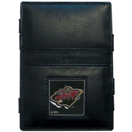 NHL Minnesota Wild Genuine Leather Jabob's Ladder Magic Wallet
