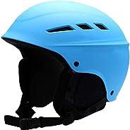 Man/Woman/Teen Ski Helmet Winter Plush Snowboard Helmet Skateboard Skating Mask Moto Bike Cycking Climbing Spo