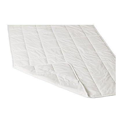 IKEA KUNGSMYNTA Protector de colchón de blanco; (160 x 200 cm)
