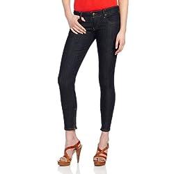 Diesel Women's Grupee Zip Super Skinny Leg Jean 0881K