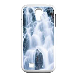 QSWHXN Customized Waterfall Pattern Protective Case Cover Skin for Samsung Galaxy S4 I9500