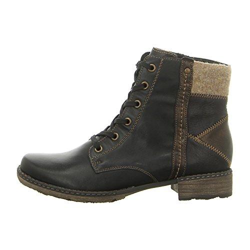 negro D4390 mujer para 01 Botas Negro negro Remonte 1FqRYfq
