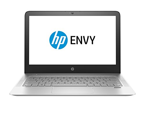HP 13-d040wm ENVY Laptop, 13.3 QHD IPS Display 3200 x 1800 , Intel Core i7-6500U 2.5GHz , 8GB RAM, 256GB Solid State Drive, Bluetooth, Windows10, 7.5 hours battery life – Silver