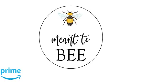 63fb9387743e Amazon.com   Bumble Bee Meant to Bee Stickers