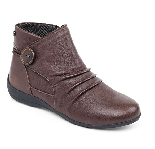 Boot Ankle Women's Donne Zip Footcare Footcare Extra Fastening Extra Larga 'carnaby' Zip Boot Caviglia Padders Brown Calzascarpe Delle Ee Wide Fit Marrone Uk Free Libero Ee Forma 'carnaby' In Shoehorn Uk Padders 8q1dxn5wq