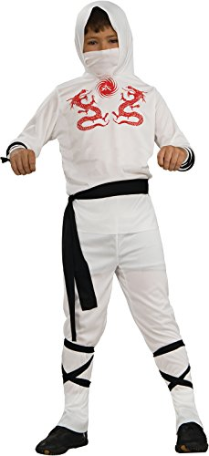 Rubie's Haunted House Child's White Ninja Costume