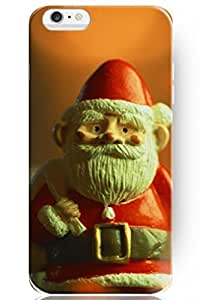 "ZLXUSA(TM) New Personalized Hard Santa Claus Toy for iPhone 6 Plus (5.5"") Case Christmas hjbrhga1544"