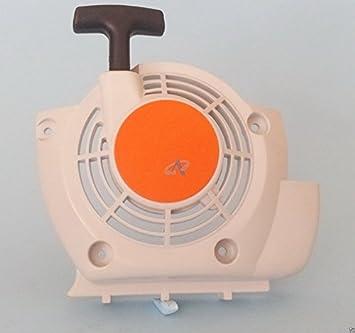 Nueva carcasa de ventilador de embrague de arranque de repuesto para Stihl Modelos Stihl SP 200: Amazon.es: Jardín