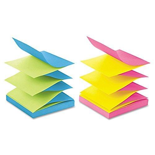 MMMR330UALT - Post-it Pop-up Notes in Alternating Ultra - Notes Alternating