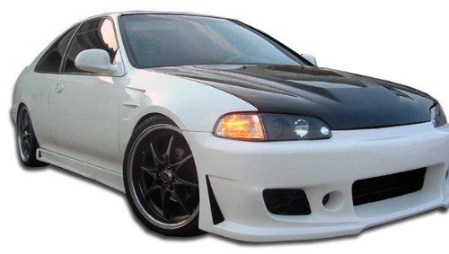 (Duraflex Replacement for 1992-1995 Honda Civic 2dr / 4DR B-2 Side Skirts Rocker Panels - 2 Piece)