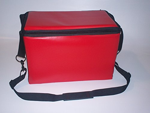 TCB Insulated Bags HWK-2-Red Food and Beverage Carriers: Hawking Vending Bag without Dispensing Lid, 13'' x 22'' x 14'', Red by TCB Insulated Bags
