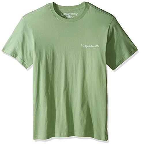 Margaritaville Men's Short Sleeve Mexican Cutie T-Shirt, Lime in Da Coconut, Large