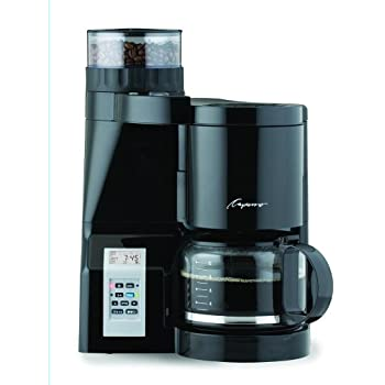 Amazon Com Capresso 454 Coffeeteam S Coffee Maker Burr