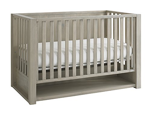 Bassett Baby Kids Destin 4-in-1 Crib in Taupe