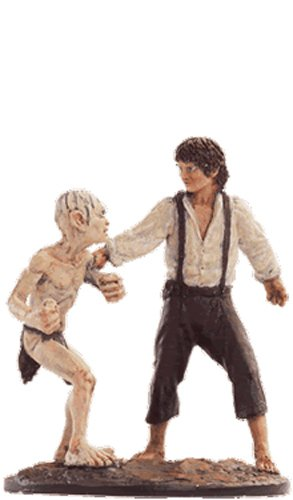 Statue von Blei Lord of the Rings Collection Nº 60 Frodo&Gollum