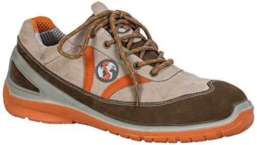 Seba 597CE Langsame Schuh S1P SRC, Beige, Größe 46