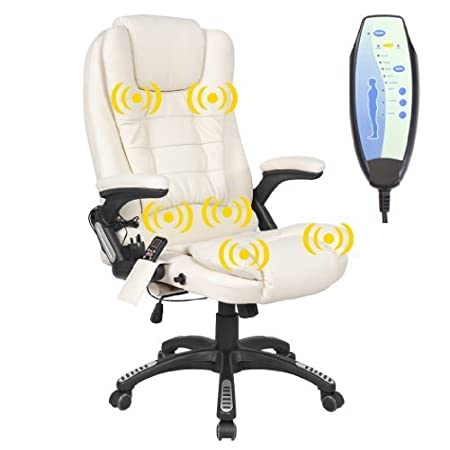 nice office chairs uk. RIO CREAM RECLINING MASSAGE LEATHER OFFICE CHAIR W 6 POINT HIGH BACK COMPUTER DESK 360 Nice Office Chairs Uk