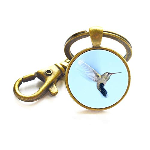Colibri Keychain Hummingbird Bird Animal Jewelry Little Bird Keychain Nature s Gift Tropical Style Nectar Colibri Gift,TAP366