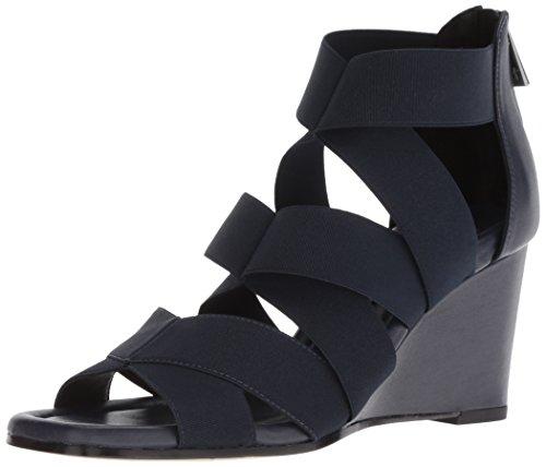 Donald J Pliner Women's Lelle Sandal, Navy, 8.5 M US