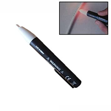 Detector de Voltaje Corriente sin Contacto Lápiz Z 90~1000V: Amazon.es: Electrónica