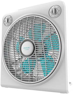 Cecotec EnergySilence 6000 PowerBox Ventilador de Suelo. 5 aspas ...