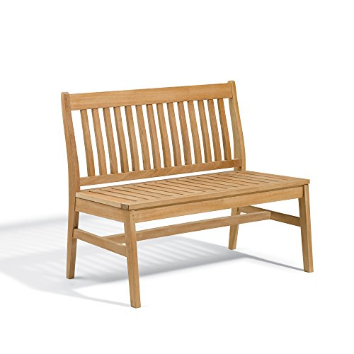 Oxford Garden Wexford Bench, 43-Inch, Natural