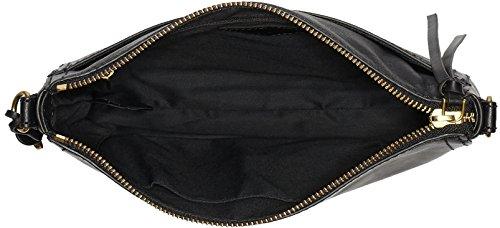 Fossil Emma bolso bandolera piel 25 cm Black (Schwarz)