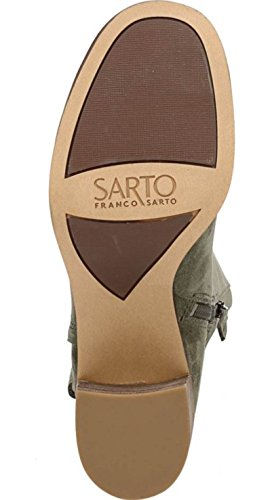 Green Pastoral Knee Suede Mystic High Sarto Boot Womens Franco tqS0zYn