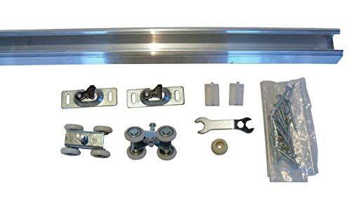 Series 1 HBP- Heavy Duty Pocket Door Track and Hardware (72