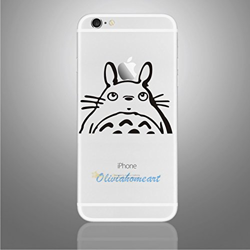 Iphone 6 decals iphone vinyl decal stickers 4 7 for iphone 6 totoro iphone 6 decals buy online in uae electronics products in the uae see prices