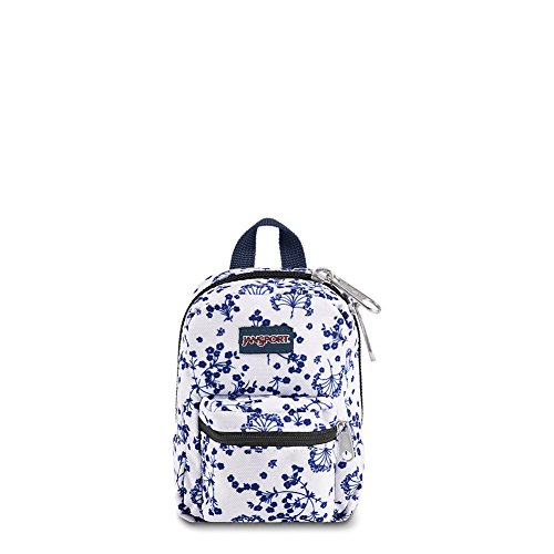 (JanSport Lil' Break Pouch - White Field Floral )