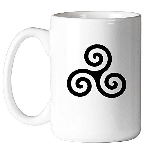 Celtic Triskelion Masonic 11 oz. Coffee