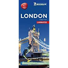 Michelin London City Map - Laminated