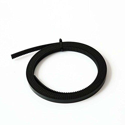 Zamtac 10pcs 1M GT2 Open Timing Belt Width 6mm Rubber Loop Belts for 3D Printer SD998 - (Color: Green) by GIMAX (Image #4)