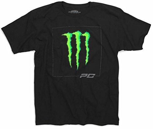 Pro Circuit Monster Energy D-Squared Short Sleeve T-Shirt Black (Monster Apparel)