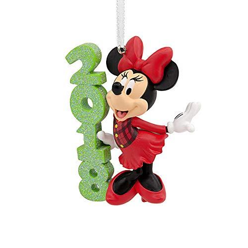 Hallmark Disney Christmas Ornament | Minnie Mouse 2018 Commemorative Decoration (Ornaments Mouse)