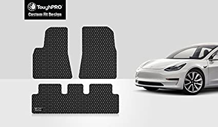 Amazon Com Toughpro Tesla Model 3 Floor Mats Set All Weather