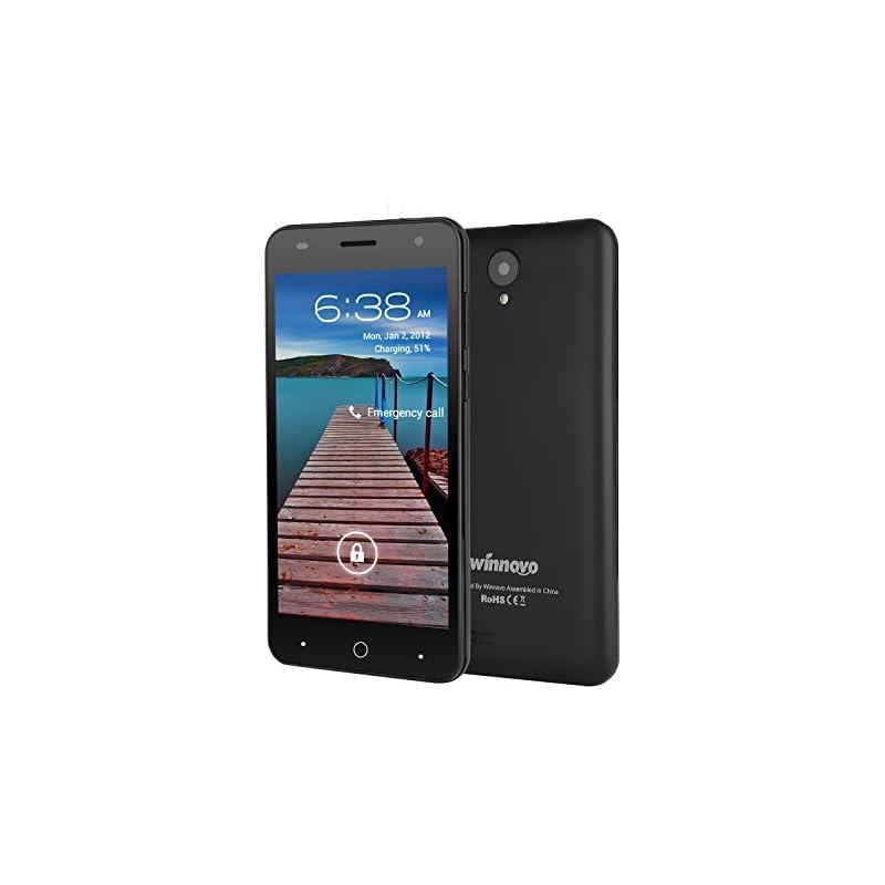 Unlocked 5 Inch Dual SIM Cell Phone - Wi