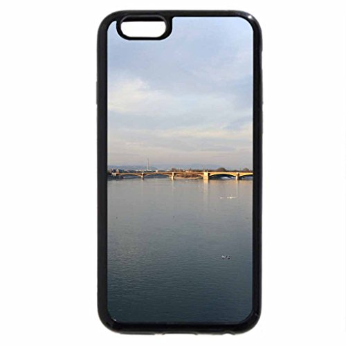iPhone 6S / iPhone 6 Case (Black) View from Danube Bridge in Budapest