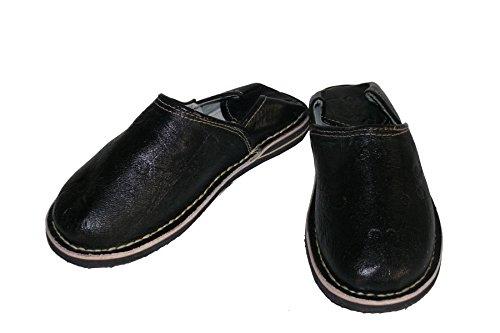 Pantofole In Pelle Orientale Pantofole Da Uomo - Uomo