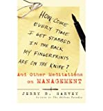 img - for How Come Every Time I Get Stabbed in the Back My Fingerprints are on the Knife?: And Other Meditations on Management (Jossey-Bass Business & Management (Hardcover)) (Hardback) - Common book / textbook / text book
