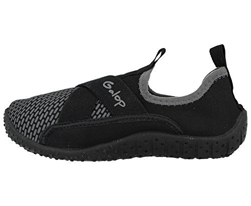 Infant Surf UK Footwear Boots Water Foster Black Mens 9 Unisex Ladies Galop Kids Beach 10 Toggle Shoes All Wetsuit Size Wet aTSqTwY