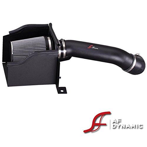 R&L Racing AF Dynamic Black Cold Air Filter Intake Systems + Heat Shield 2003-2007 for Hummer H2 6.0 6.0L V8 (Hummer H3 Turbo)