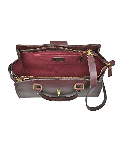 The Bridge Borsa A Mano Donna 0432673Y03 Pelle Bordeaux