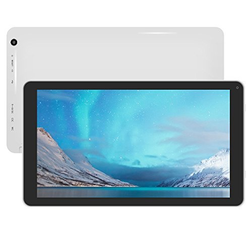 Yuntab Quad core touch Tablet 10.1 zoll Android 4.4 8Go A33 Quad-core CortexTM-A7 ,Support WiFi Jeux, Google Play Store, Youtube, Netflix, Jeux (D102)